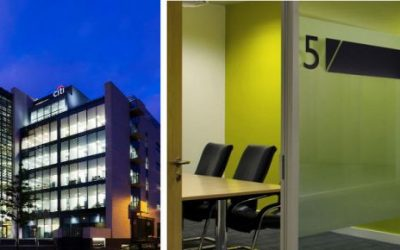 LEED-certified commercial interior fit out at Citigroup