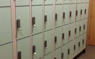 Digilock Lockers for Microsoft