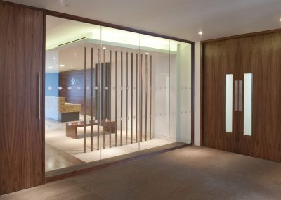 Fake-wood-partition-double-door